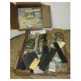 Gel Coat repair kit, metal stock, threaded rod,