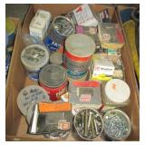 Large group of hardware including bolts, screws,
