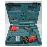 Makita 12 volt battery drill with charger, 2