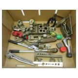 (7) Various pipe cutters including Ridgid,