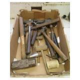 Approx. (16) Various style hammers, including