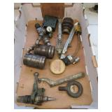 Hunt valve, AVM brackets, & other air fittings.