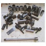 Large group of sockets & extender some deep well.