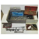 Allen Volt Meter, Various sockets, C-Clamps, hand