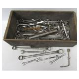 Large group of wrenches. Brands include