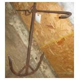 Homemade anchor.