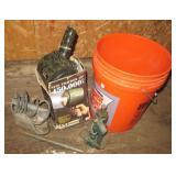 Night tracker 450 spotlight, bottle jack, jigsaw,