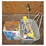 (12) Various Sprinklers, small garden tools, &