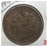 1879-S Morgan Silver Dollar.