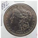1882 Morgan Silver Dollar.