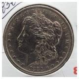 1883-O Morgan Silver Dollar.