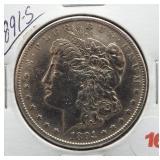 1891-S Morgan Silver Dollar.