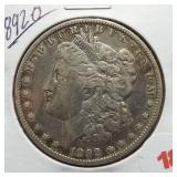 1892-O Morgan Silver Dollar.
