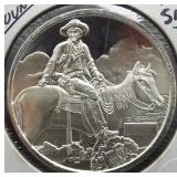 One Ounce .999 Fine Silver Round.