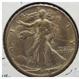 1935-S Walking Liberty Silver Half Dollar.