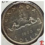 1960 Canadian Silver Dollar.