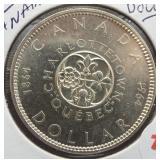 1964 Canadian Silver Dollar.