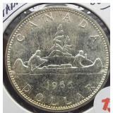 1965 Canadian Silver Dollar.
