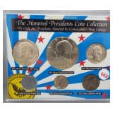 The Honored Presidents Coin Collection the Only