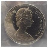 1968 Canadian dollar. ICCS PL65.