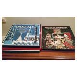 (6) Vintage Box Album Sets