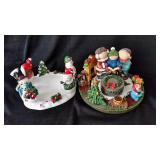 (2) Yankee Candle Holiday Holders