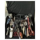 Collection of Kitchen Utensils