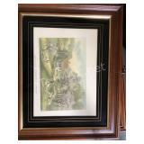 Framed American Homestead Spring Print