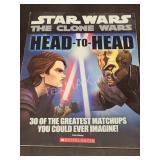 Star Wars: The Clone Wars Head to Head Book