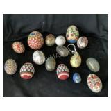 Collection of Handmade Eggs