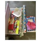 Wrapping Paper, Bags and Storage Container