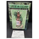 Budweiser Louie the Lizard Character Stein