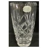 Bohemia Crystal Barrel Vase