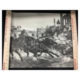 1729 Chariot Race Print