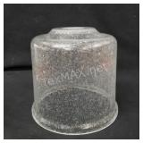 Haze Seeded Glass Cylinder Pendant LightShade