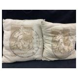 (2) Decorative Pillows