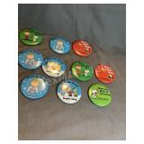 Vintage Charlie Brown Buttons
