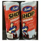 (2) Rolls of Scott Shop Towels