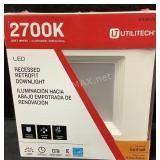 Utilitech LED Recessed Retrofit Downlight