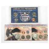 American Presidents sets: 1966(P)/1967(P) Kennedy