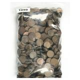 9.4-lbs assorted 1944-1958 Lincoln wheat pennies