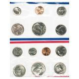 1981 P and D uncirculated mint sets - no sales