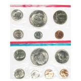 1973 P and D uncirculated mint sets - no sales