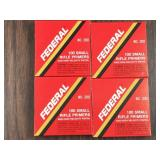 400pc Federal #200 small rifle and high velocity