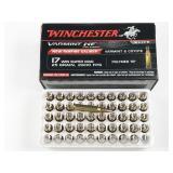 17 Win Super Mag, box of 50rds Winchester