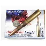 50ca Browning, box of 10rds Federal American