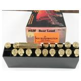 450 Bushmaster, box of 20rds HSM Bear Load,300gr,