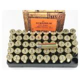44 Mag, box of 50rds HSM Cowboy Action, 240gr,