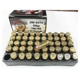 380 Auto, box of 50rds LMMG Munitions, 100gr,