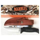 Marbles camp knife